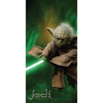 Star Wars Yoda fürdőlepedő, 75 x 150 cm