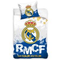 Pościel bawełniana Real Madrid RMCF, 160 x 200 cm, 70 x 80 cm