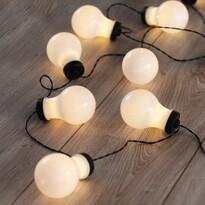 DecoKing Lampki Żarówki ciepła biała, 10 LED