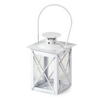 Brillare fém lámpás fehér, 12 cm