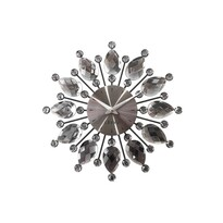 Lavvu Crystal Flower LCT1121 falióraantracit, átmérő: 33 cm