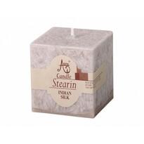 Stearinová svíčka Capri Indické hedvábí, hranol
