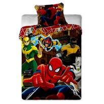 Detské bavlnené obliečky Spiderman Hero, 140 x 200 cm, 70 x 90 cm