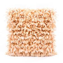 Povlak na polštářek Shaggy běžová, 45 x 45 cm