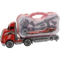 Ciężarówka Construction, czerwony