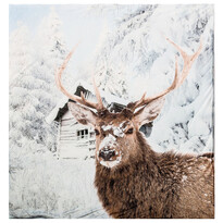 Koc Home & Styling Deer snow, 140 x 160 cm