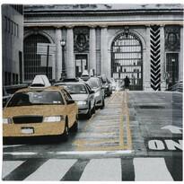 Obraz na plátne Traffic jam, 39 x 39 cm