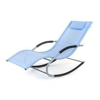 Happy Green leżak plażowy Catania, niebieski