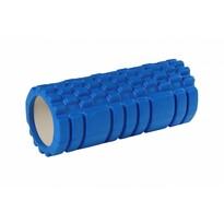 Fitness masážní válec modrá, 33 x 15 cm