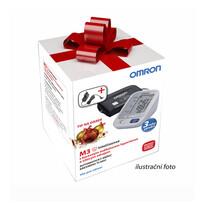 Vianočné balenie Tlakomer Omron M3 s farebným indikátorom hypertenzie + adaptér ZADARMO