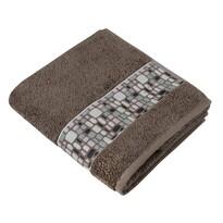 Ręcznik kąpielowy Kamienie brązowy