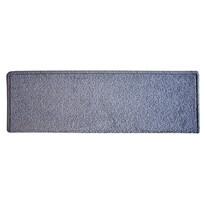 Eton téglalap lépcsőszőnyeg, szürke, 24 x 65 cm