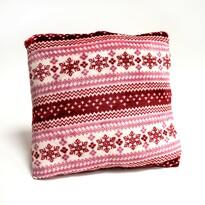 Polštářek Beránek červená, 40 x 40 cm