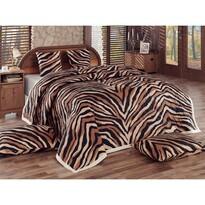 Bengal ágytakaró, barna , 220 x 240 cm, 40 x 40 cm