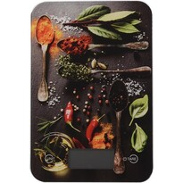 Cântar digital de bucătărie Spices, 5 kg, chilli
