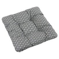 Sedák Adela Kvetinka kruhová sivá, 40 x 40 cm