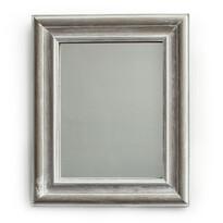 Zrcadlo v dřevěném rámu Caruso, přírodná