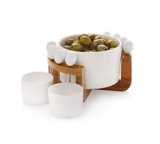 Zestaw do serwowania oliwek Maxwell & Williams, 12-częściowy