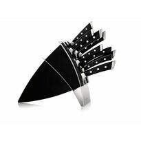 Tescoma Blok na nože Azza so 7 nožmi a nožnicami na hydinu