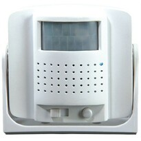 Solight Dverové alarm Gong, biela