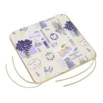 Sedák Gita hladký Provence, 40 x 40 cm