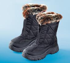Dámske zimné topánky s baránkom, 37