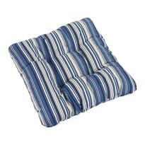 Sedák Ivo prúžok modrý, 40 x 40 cm, súprava 2 ks