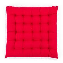 Sedák Adele nižší červená, 39 x 39 cm
