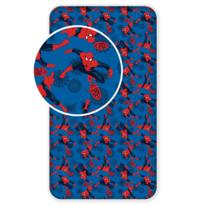 Cearşaf Spiderman , din bumbac, pentru copii, 2017, 90 x 200 cm