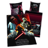 Pościel bawełniana Star Wars Death Kylo Ren, 140 x 200 cm, 70 x 90 cm