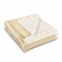 DecoKing Baránková deka Teddy krémová, 150 x 200 cm