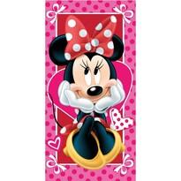 Minnie hearts 02 törölköző, 70 x 140 cm