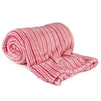 Deka Light Sleep růžový proužek, 150 x 200 cm