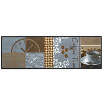 Vnitřní kuchyňská rohožka Coffee time, 50 x 150 cm