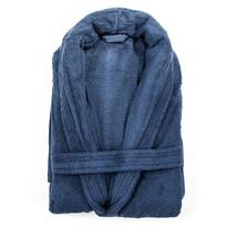 Halat de baie albastru, XL