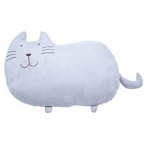 Pisicuță pluș Mustăcel, 53 x 37 cm