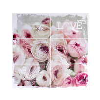 Obraz na plátně Pink flowers