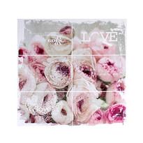 Obraz na plátne Pink flowers