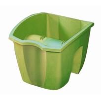 Balkónový truhlík na zábradlie zelená 7 l