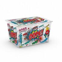 KIS Dekoračný úložný box C Box Style Comics XL, 50 l