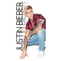 Justin Bieber térélkézú, 70 x 140 cm