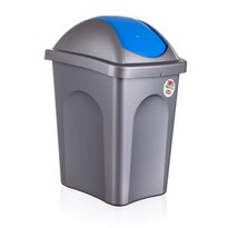 Multipat odpadkový kôš modrá