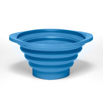Cedník Strainer 22,5 cm, modrý
