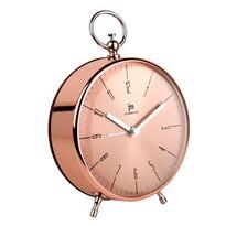 Ceas deşteptător de design Lowell JA7045R, diam. 12,5 cm