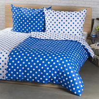 4Home Bavlnené obliečky Modrá bodka