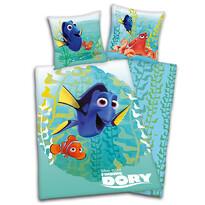 Pościel dziecięca Nemo, Dory i przyjaciele green, 140 x 200 cm, 70 x 90 cm