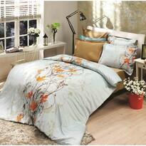 Bavlnené obliečky Giselle oranžová, 220 x 200 cm, 2 ks 70 x 90 cm