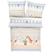 s.Oliver detské bavlnené obliečky do postieľky 1407/100, 100 x 135 cm, 40 x 60 cm