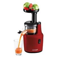 Concept LO7112 wyciskarka wolnoobrotowa do owoców i warzyw, czerwony