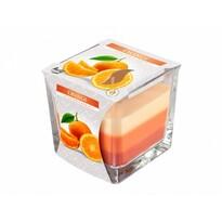 Świeczka w szkle Tęcza Pomarańcza, 170 g